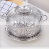 High Quality Metal Gold Fruit and Vegetable Colander