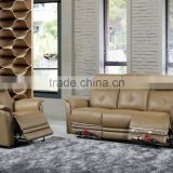 Classic comfortable Brown thick leather Recliner sofa, Sofa Size - 1 Seater, 2 Seater, 3 Seater