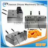 Stainless Steel Electric Deep Fryer Fast Food Equipment Open Fryer Manufacture Ce(whatsapp:0086 15039114052)