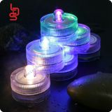 small submersible rgb flashing cr2032 tea light