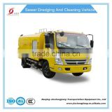 NJJ5165GQX5 16T DONGFENG 8000L sewer cleaning vehicle with jac and vacuum system