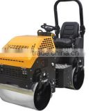 China Low price ride-on diesel engine road roller 1-3 ton