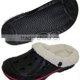 New design Best quanty 2017 hotselling Winter eva clogs ,wholesale price eva clogs