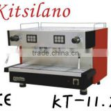 BA-GF-KT11.2 KITSILANO powder coating 2 coffee brewing holders espresso Coffee Machine for coffee