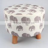 Customer Design Cute Wooden Sitting Stool