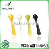 Green technology Manufacturer Supply No pollution bamboo fiber black spoon