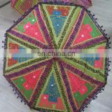 Decorative Sun Vintage Garden Umbrella /luxury beach umbrella