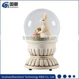 OEM Easter Resin snow ball