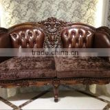 Antique fabric sofa set for home decor