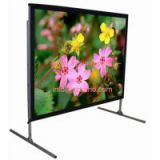BURIO Brand Fast Fold Large Projection Screen 200 inch 180 inch 150 inch 120 inch 4:3