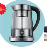 Electric glass kettle tea maker