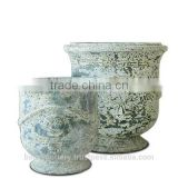 Atlantis French Urn, Set of 2.