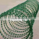 plastic anti rust razor barbed wire factory price