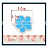 XP-MP-099353 FACTORY PRICE custom enamel dog paw print logo