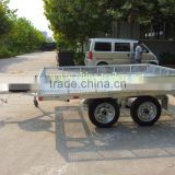 Galvanized Double ATV trailer and galvanized ATV trailer