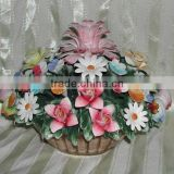 Ceramic Flower Basket