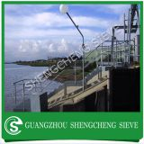 Stair galvanized pipe ball-joint handrail stanchion