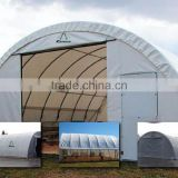 Quality Fabric Building with side opening for workshop , commercial warehouse storage , Salt Storage Shelter, Car Garage Tent