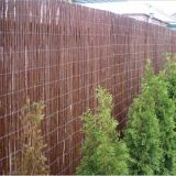 willow fence for gardening natural dark coffee willow fence for house