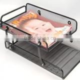 2-tier hand file tray