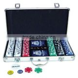 300pc Poker Chip Set,casino game,chip set