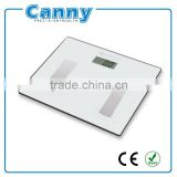 factory cheap silk printing 6mm or 8mm tempered glass 150kg or 180kg body composition fat analyzer with CE RoHS PAHS