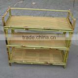Bamboo Supermarket for Dispaly Shelf and Storage Rack Combination