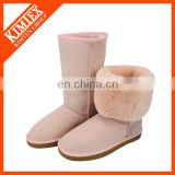 sheep skin winter snow boots