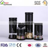 storage bottle can glass coffee tea sugar canister jar