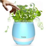 TOKQI K3 Waterproof Egg Intelligent Bluetooth Music Flower Pot Speaker with Touch Sensor Plant for Home Office