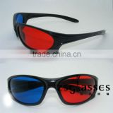 Cheap Promotional 3D glasses for tv /DVD /film / game,red and blue 3d active glasses,polarized 3d glasses