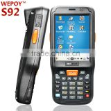 handheld industrial IP54 13.56mhz rfid reader long range to read 1D / 2D bar code with Good Price