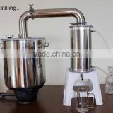 Large Capa!25L Household Stainless Steel Water Seal Alochol Distiller For Sale Home Wine Distiller Distillation/Brewing Device
