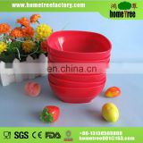 5 inch 450ml square plastic bowl