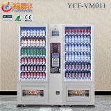 YCF-VM011large capacity combovending machines snacks beverages/snack vending machine/automatic china bulk drinks vending