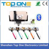 Promotional Shenzhen cheap monopod selfie stick without bluetooth free charge