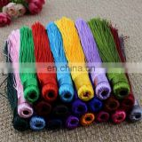 Handmade Silky Tassels Decoration Pendant Accessories For Jewelry Garment Curtain Diy Craft
