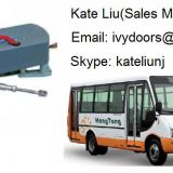 Electric Bi-fold Bus Door Mechanism For Minibus and City Bus