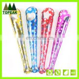 Custom Printed inflatable balloon cheering stick hand clapper stick Balloons