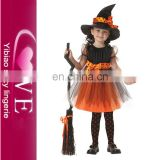 Pumpkin Treat Or Trick Baby Girls Dresses Costumes For Kids