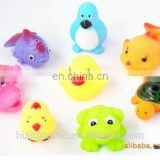 3d custom vinyl bath toys for children, 3d vinyl octopus bath toys, PVC cartoon figure toys