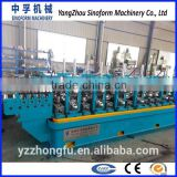 HG115 factory supply low price automatic advanced straight seam carbon steel welded pipe making machine