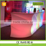 most popular LED bar counterCoffee Bar CounterLed Furniture Led Table Led Chairs
