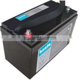 maintenance free vrla battery 12v100ah solar battery kits backup