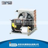 wire tube refrigerator condensing unit