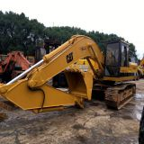 Used digger  caterpillar E200B excavator made in japan