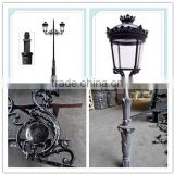 2016 hot sale garden post lamp