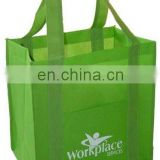 promotional pp nonwoven bag for shopping tote gift shopping bag