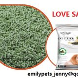 Green Cat Litter
