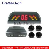 Factory best hot selling led display car parking sensor system